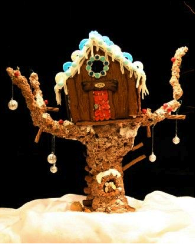 ... Gingerbread Village Houses May Be Best For This One! Birdhouse