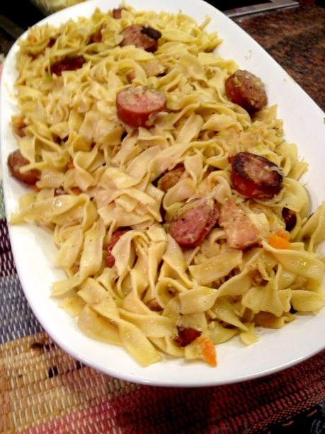 Cabbage and Noodles (Wednesday)