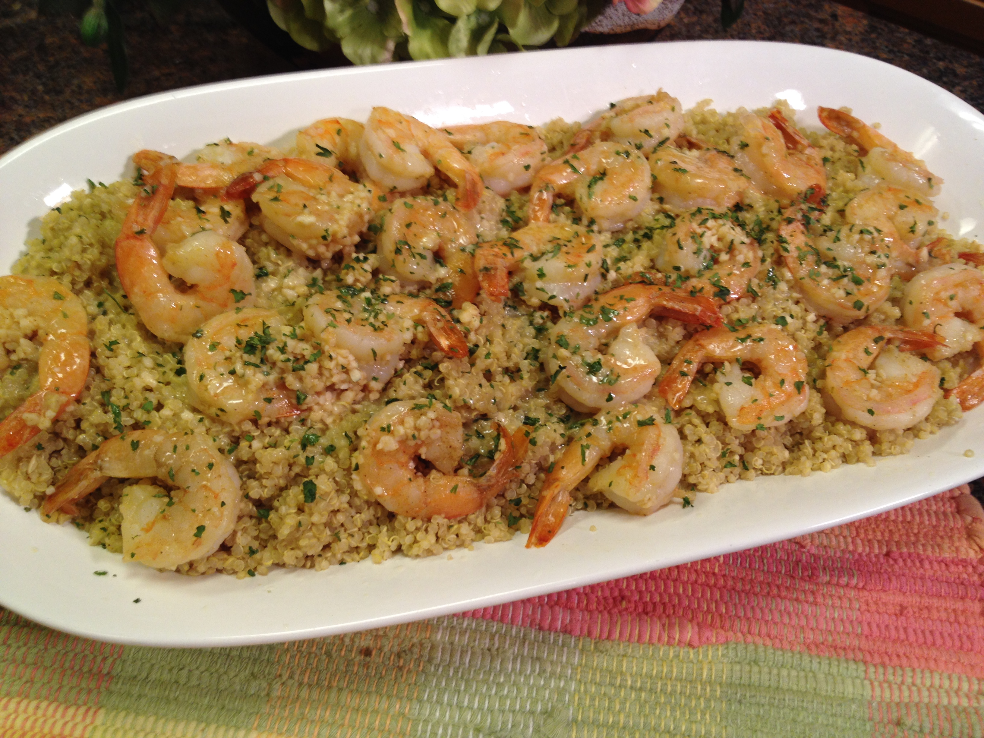 Garlic Butter Shrimp & Quinoa (Great Groceries) | The Great Groceries ...