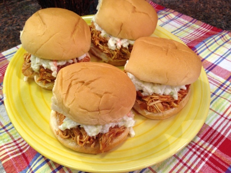 Barbecued Pulled Chicken