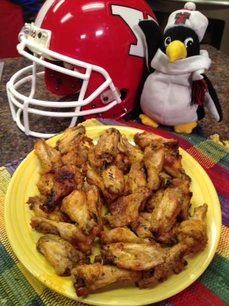 Gridiron Grille Baked Spicy Wings