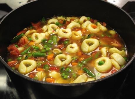Veggie Pasta Soup