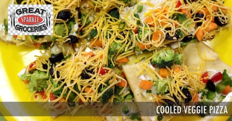 Cooled Veggie Pizza