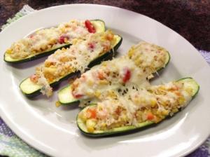 twice baked zucchini