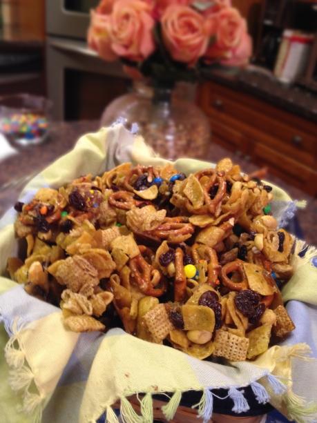 Corn Chip Snack Mix