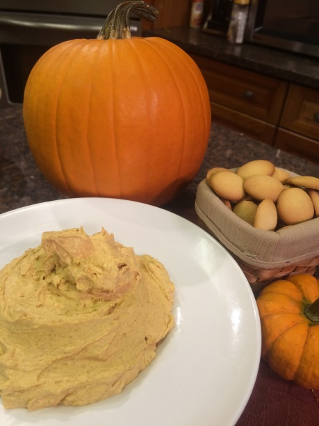 Pumpkin Pudding Dip