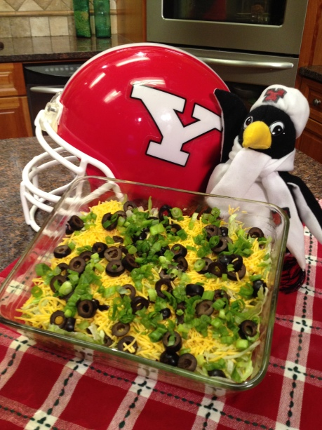 7 Layer Football Dip