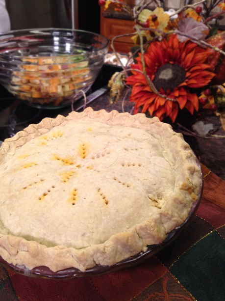 Gia Russa Autumn Pot Pie with Roasted Vegetables