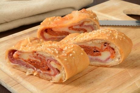 Italian bread roll sandwich