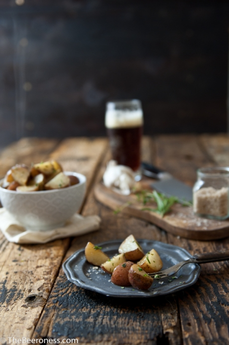 Garlic-Herb-Beer-Butter-Roasted-Potatoes_